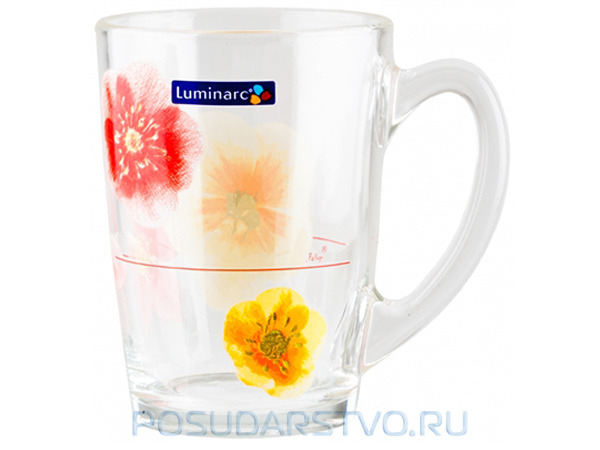 Кружка Luminarc Poeme Rose 17392
