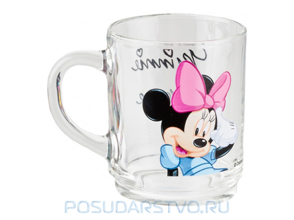 Кружка детская Luminarc Disney Mickey Mouse MINNIE COLORS G9175